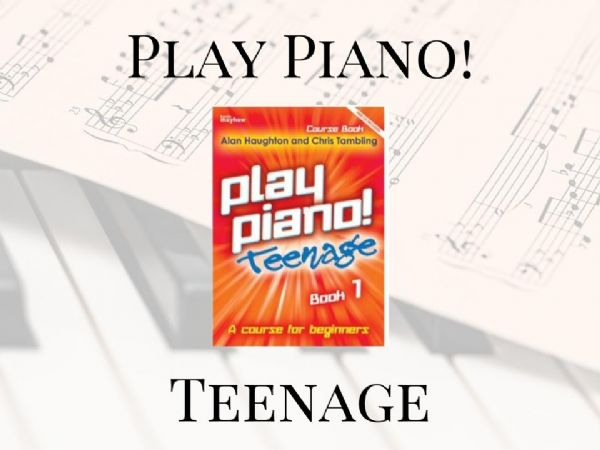 Teenage Play Piano